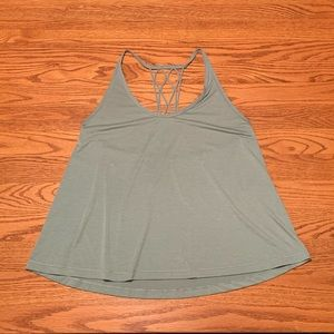 Sea foam green Lululemon tank top